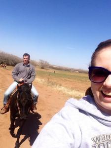 riding horses summer 2014