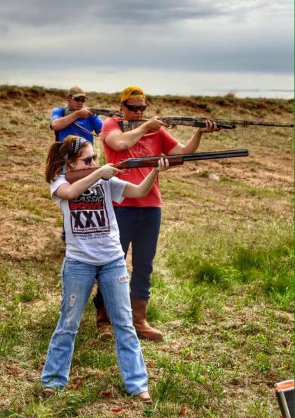 shooting guns summer 2014